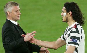 Solskajer: 'Level Cavani dan De Gea menyelamatkan Man Utd'