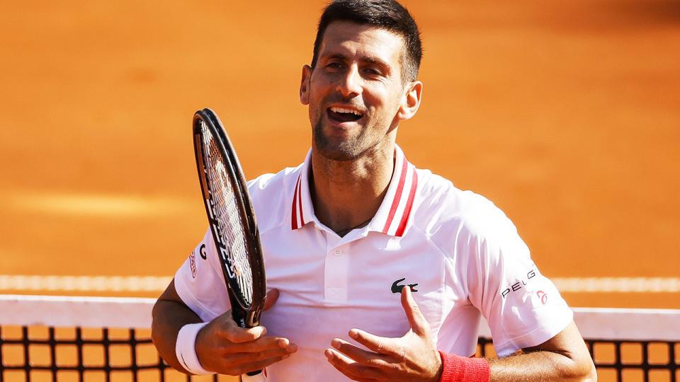 Djokovic melampaui Serena selama berminggu-minggu dan memegang posisi nomor satu di dunia