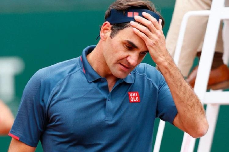 Federer kalah dari peringkat 75 dunia