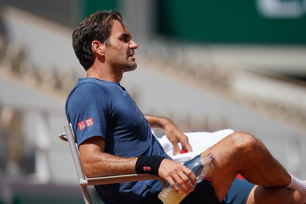 Federer tampil di hari kedua Roland Garros