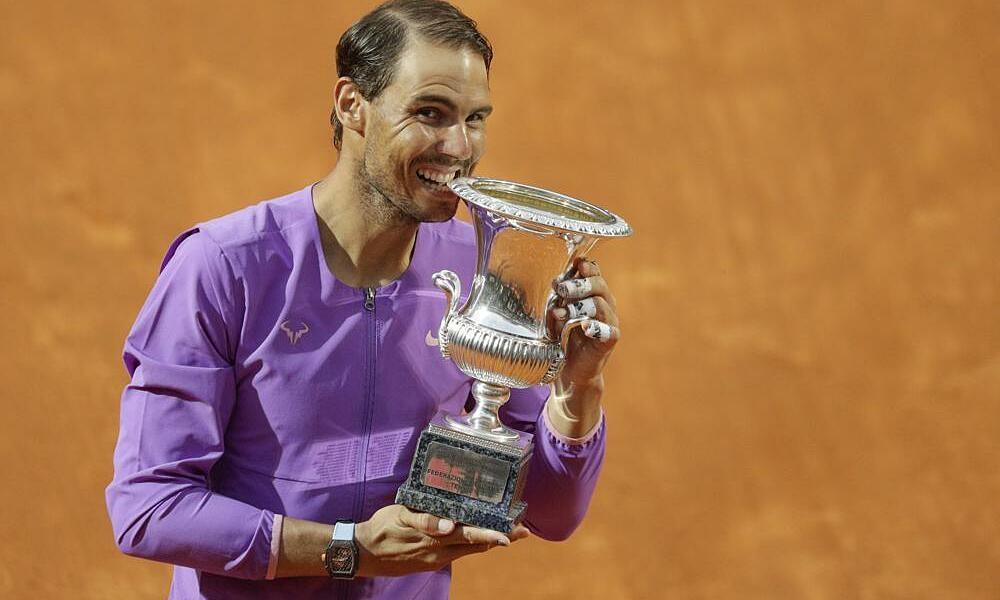 Nadal mengalahkan Djokovic di final Rome Masters
