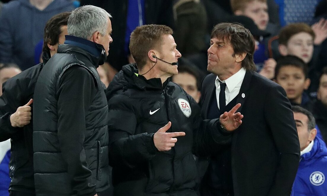 Conte tidak percaya Mourinho memimpin AS Roma
