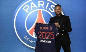 Neymar bertahan di PSG hingga 2025