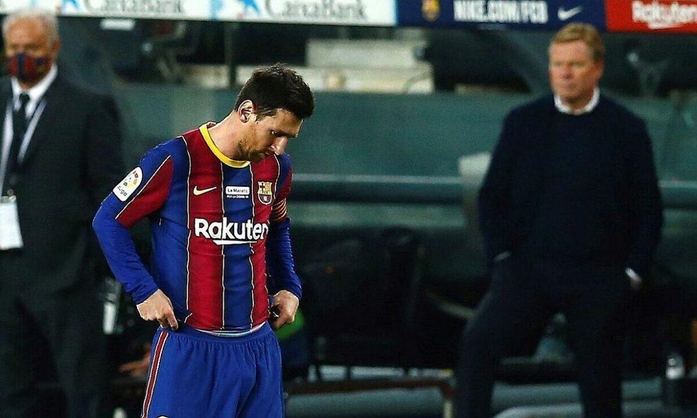 Messi absen di akhir musim