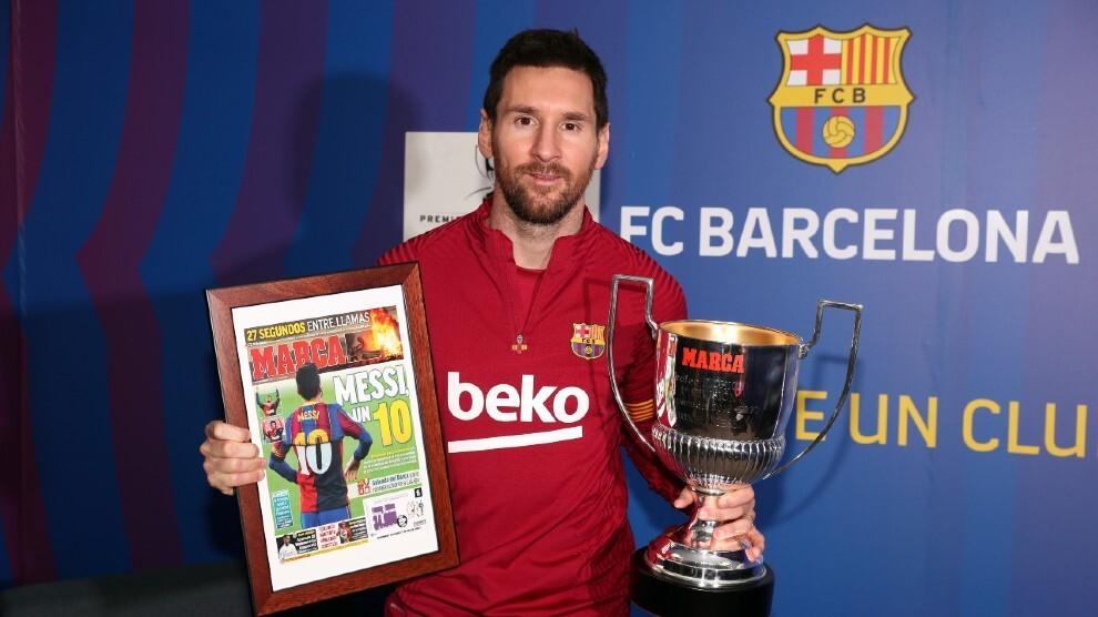Marca: 'Messi adalah Raja Pencetak Gol'