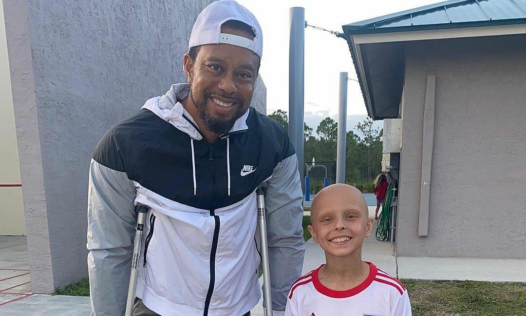 Tiger Woods: 'Pelatihan langkah demi langkah untuk berjalan sendiri adalah tujuan nomor satu'
