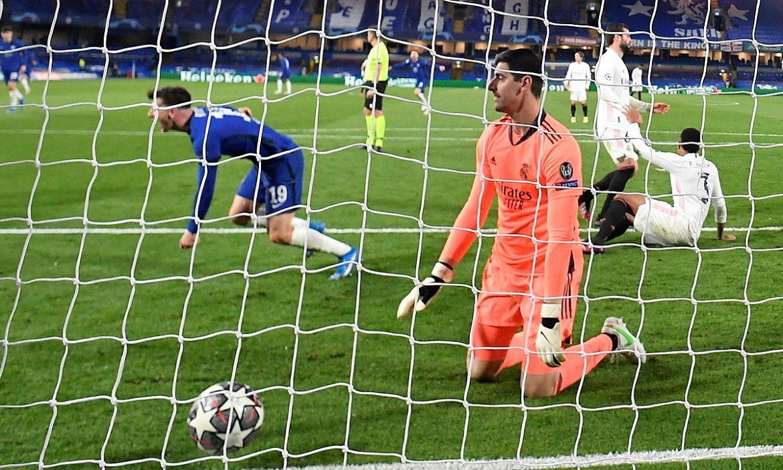 Courtois mendukung Chelsea untuk memenangkan Liga Champions