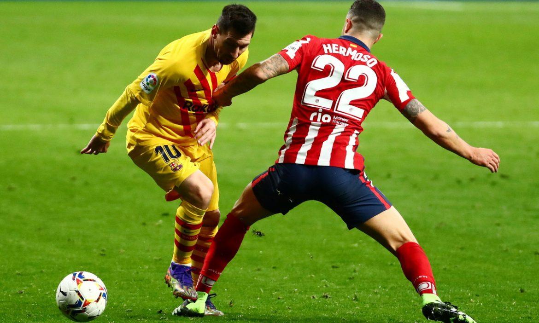 Messi adalah dewa Atletico