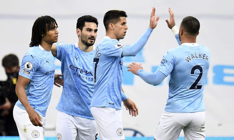 Man City mencetak rekor kemenangan tandang