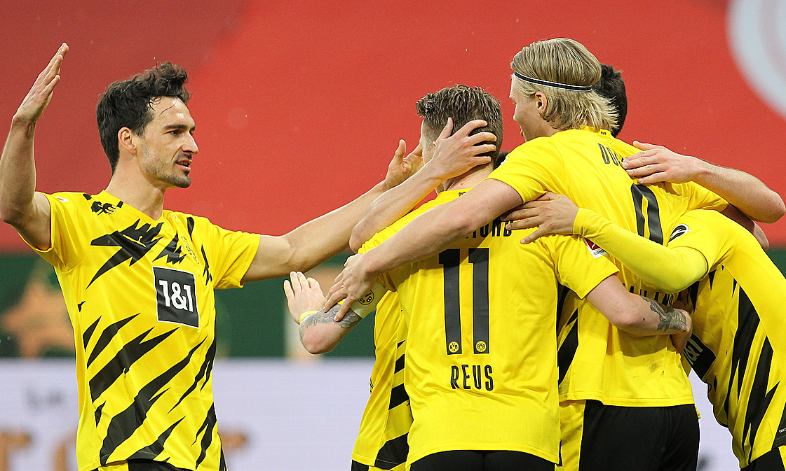 Dortmund memenangkan tiket ke Liga Champions