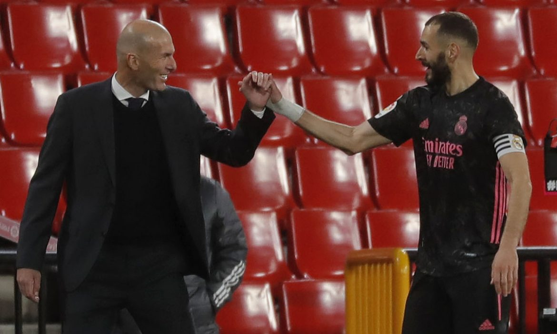 Granada 1-4 Real Madrid: Real mengejar Atletico