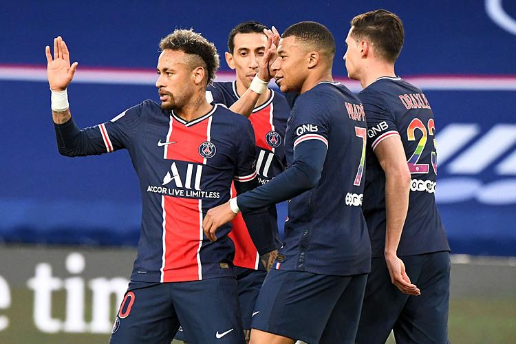 Neymar, Mbappe menghidupkan kembali harapan untuk PSG