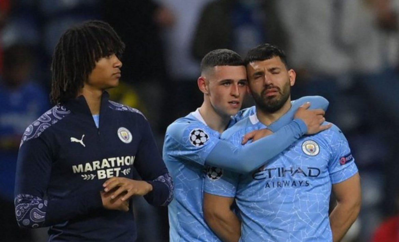 Aguero menangis karena kekecewaan Liga Champions