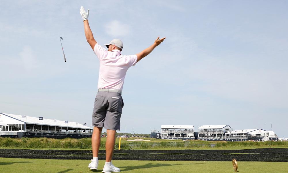 Pitch khusus dari pengambil tiket Kejuaraan PGA