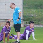 Pelatih Park menggoda para pemain Vietnam