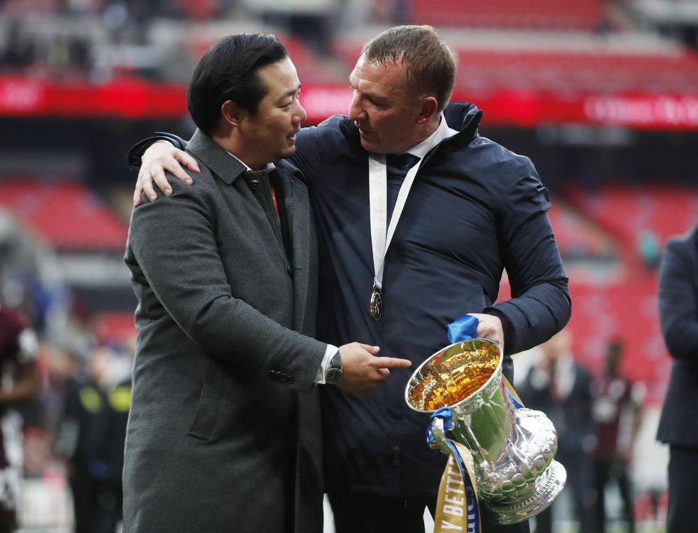 Tottenham memikat pelatih Rodgers