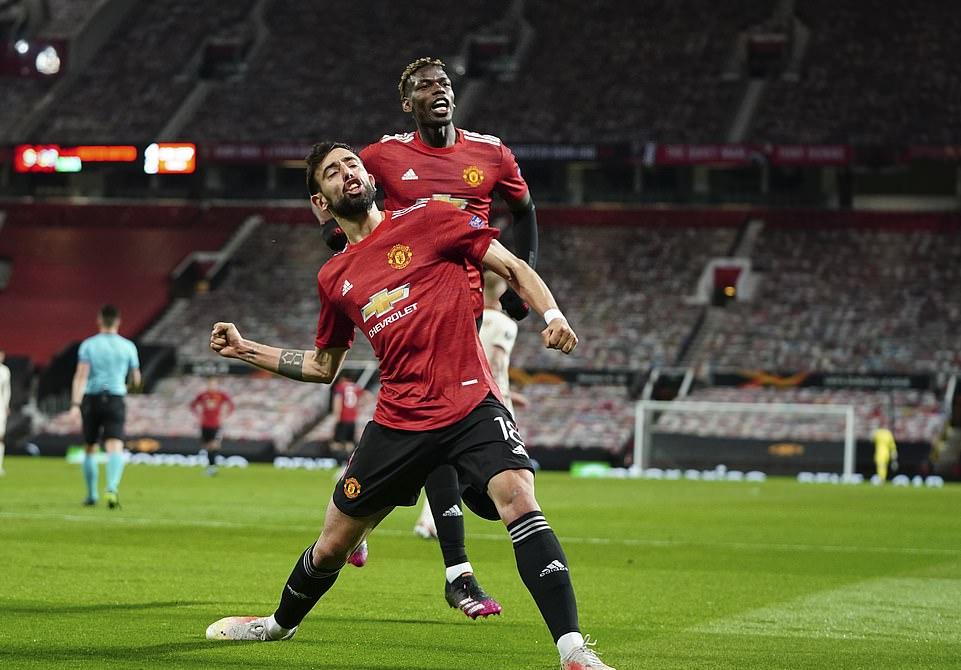 Fernandes ingin mencetak 32 gol per musim untuk Man Utd