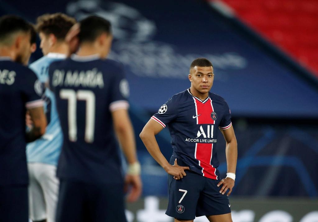 Mbappe berisiko meninggalkan leg kedua bersama Man City