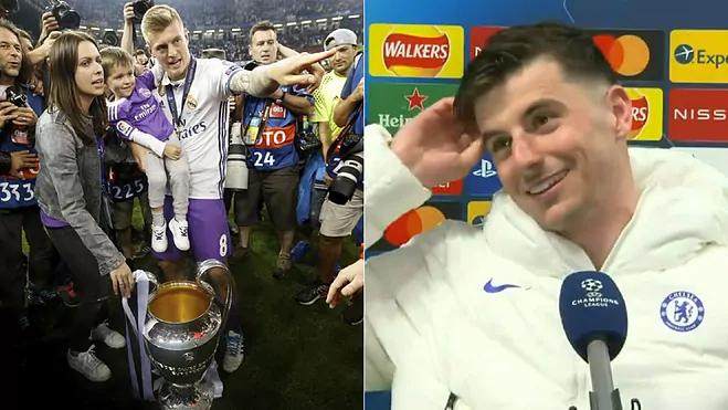 Kroos menanggapi pemain Chelsea tersebut