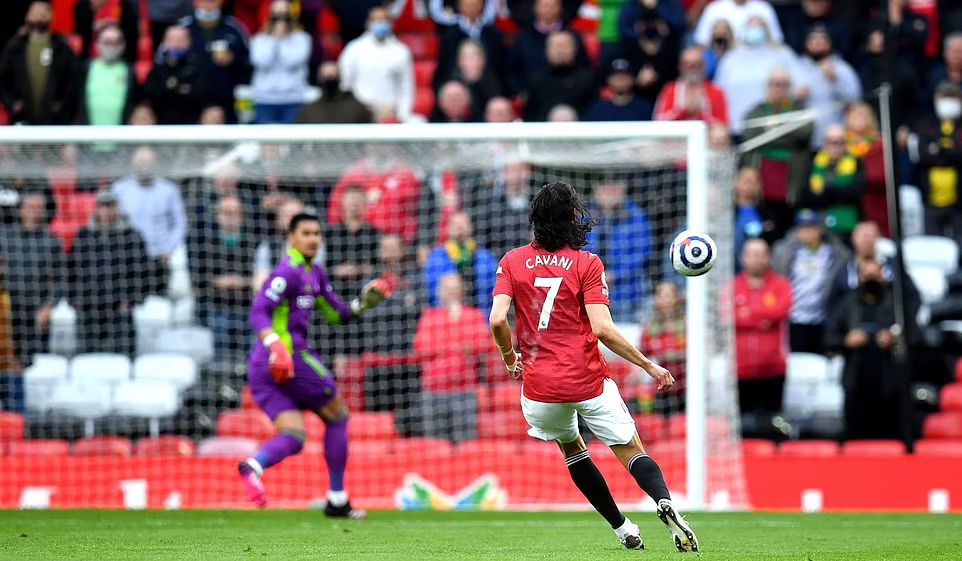 Fernandes: 'Saya tidak merasa seperti saya telah menyentuh bola'