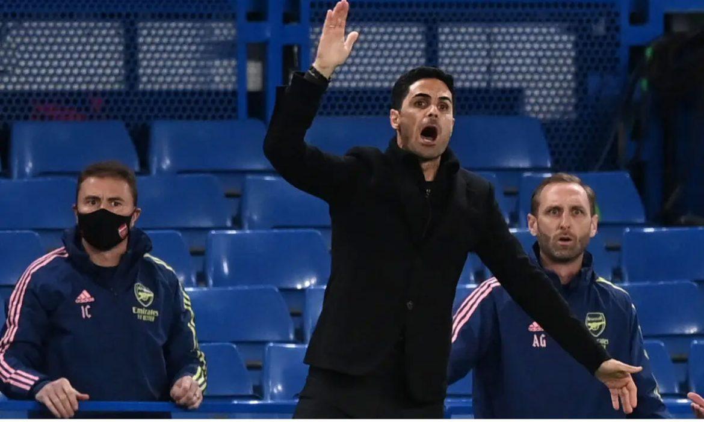 Arteta mencetak rekor melawan Chelsea