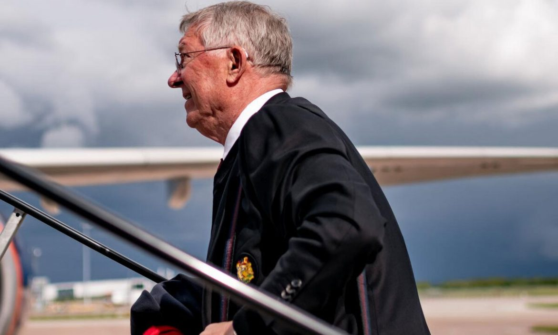Ferguson datang ke Polandia untuk mengisi bahan bakar Man Utd