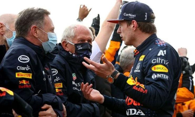 Red Bull menyesali kalimat Verstappen