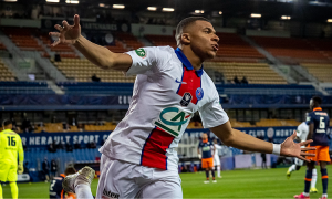Mbappe membantu PSG mencapai final Piala Nasional Prancis