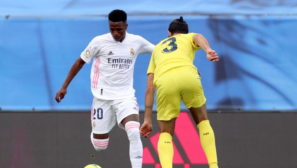 Real 0-1 Villarreal (babak pertama): Pino membuka skor