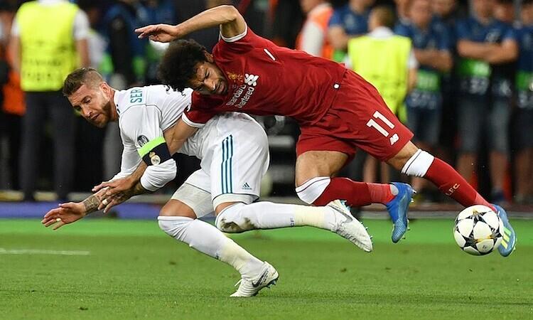 Salah bisa menghadapi Ramos di Olimpiade