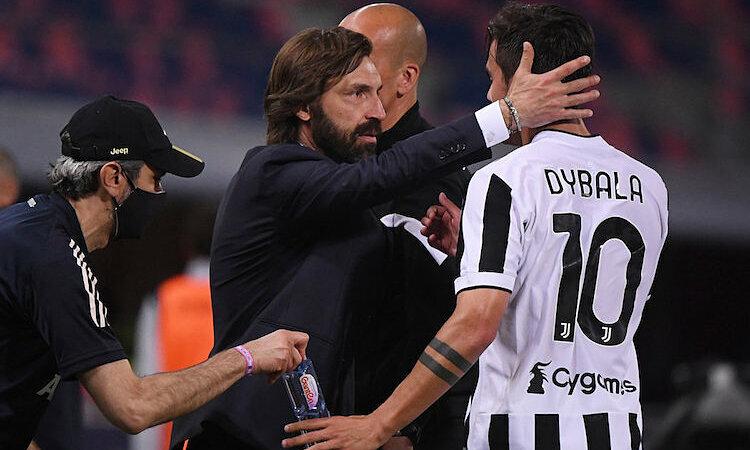 Pirlo mengisyaratkan bahwa para pemain Juventus belum saling mendukung