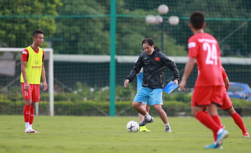 Pelatih Park Hang-seo menyesuaikan personel U22 Vietnam
