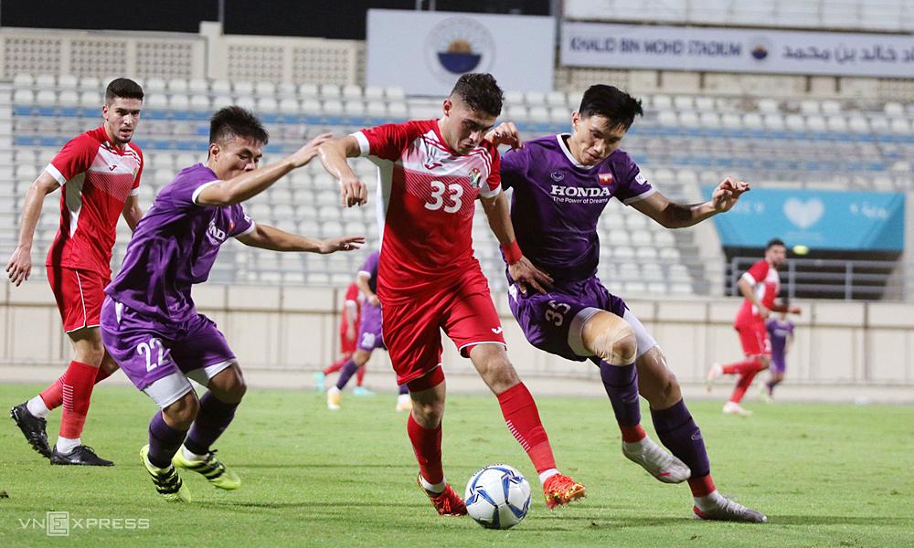 Tim Vietnam lolos dari kekalahan dari Yordania