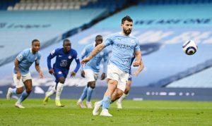 Aguero meminta maaf atas tendangan penalti yang gagal