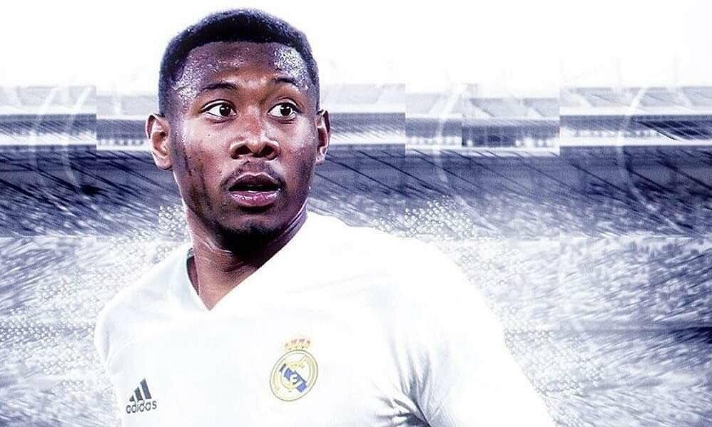 Alaba bergabung dengan Real Madrid