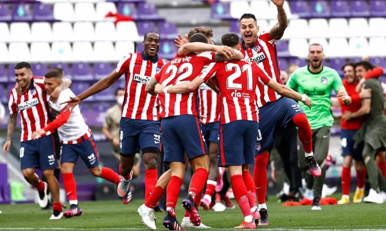 Atletico memenangkan La Liga