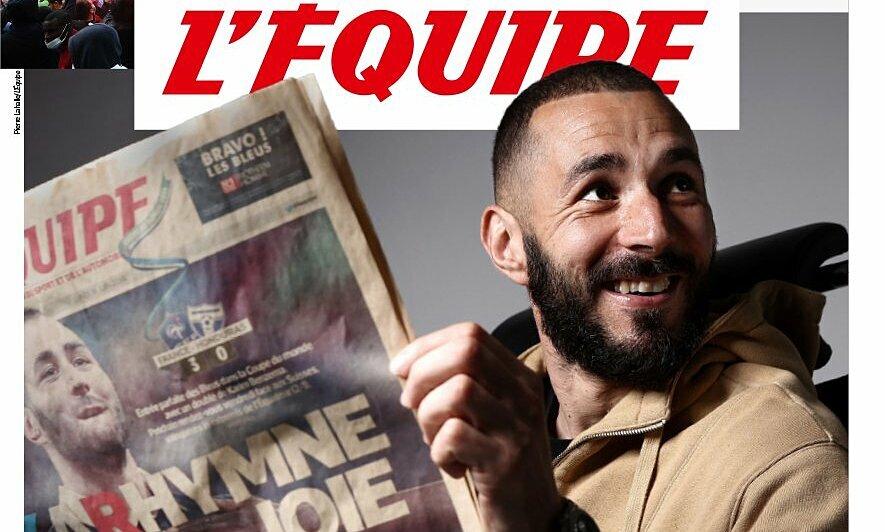 Benzema: 'Saya tidak bersaing dengan siapa pun di tim Prancis'