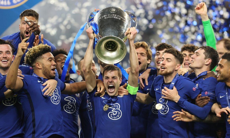 Chelsea memenangkan Liga Champions untuk kedua kalinya