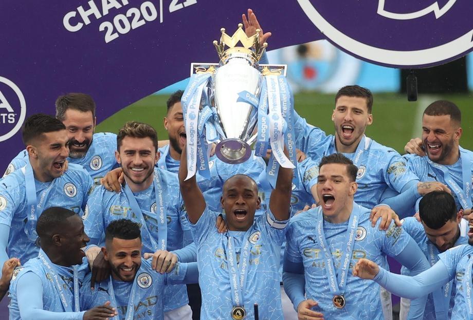 Man City merayakan secukupnya di Liga Premier