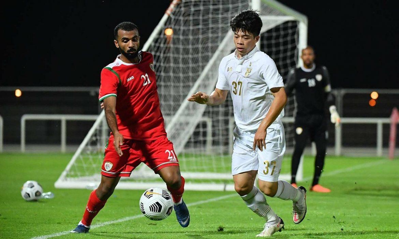 Thailand kalah dalam pertandingan persahabatan sebelum kualifikasi Piala Dunia