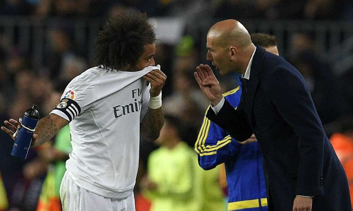Marcelo didiskualifikasi karena berdebat dengan Zidane