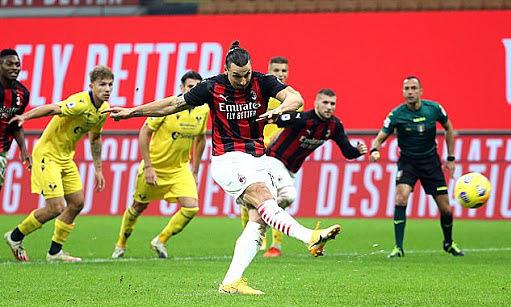 Milan memenangkan sejumlah penalti di Eropa