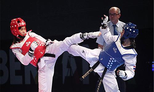 Kim Tuyen membawa tempat Olimpiade ke Taekwondo Vietnam
