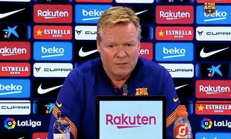 Koeman: 'Jika Barca ingin ganti pelatih, katakan saja padaku'