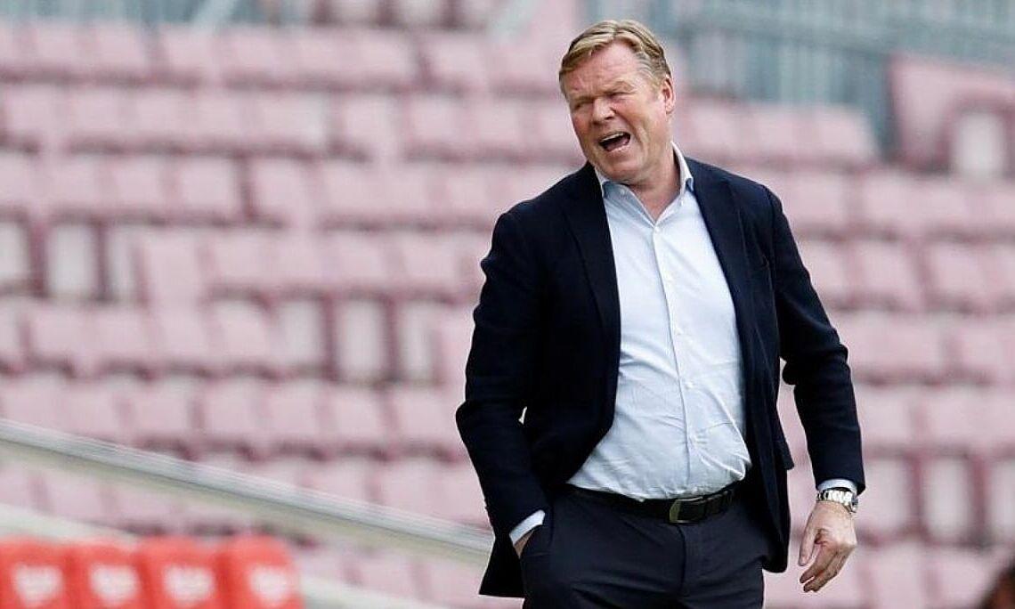 Radio RAC1: 'Barca akan memecat Koeman di akhir musim'