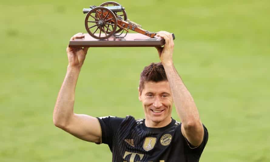 Lewandowski memenangkan Sepatu Emas Eropa untuk pertama kalinya