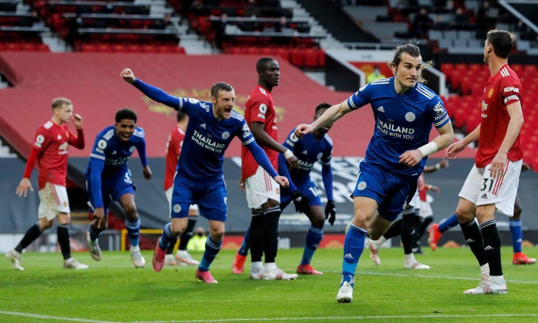 Man Utd membantu Leicester bertahan di 4 besar