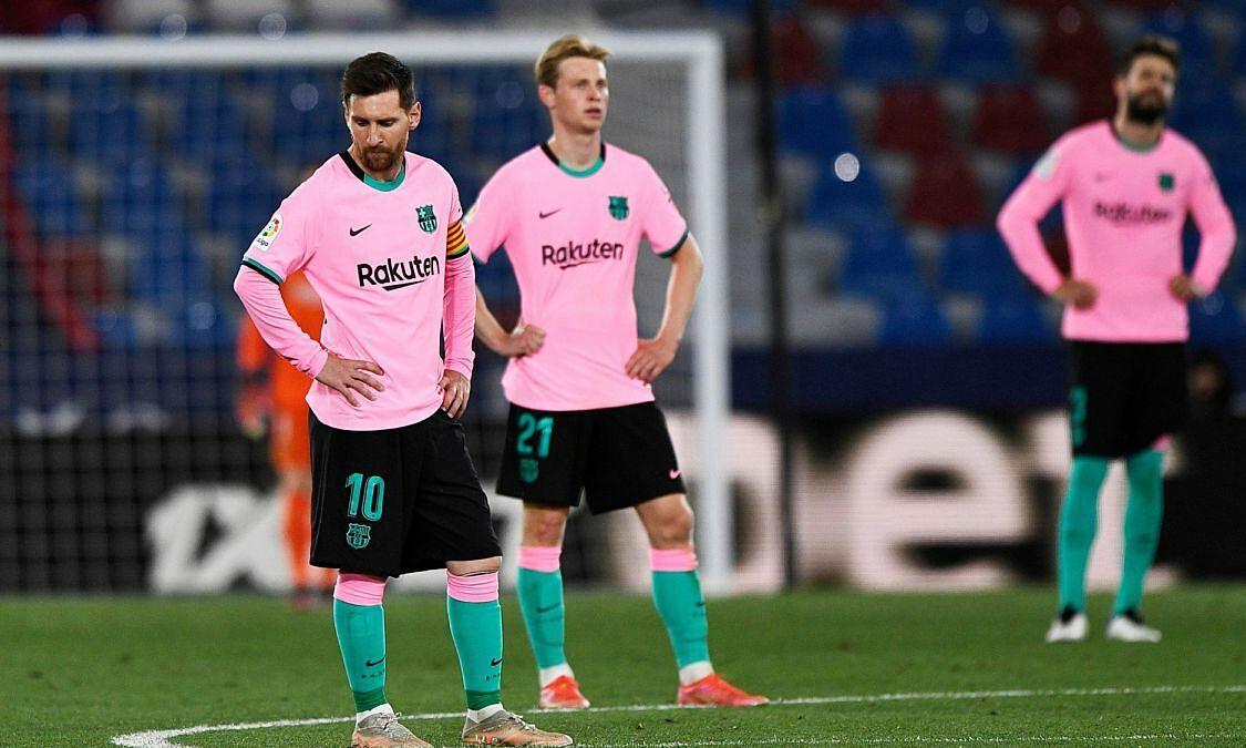 Messi melakukan kesalahan, Barca kembali kalah di La Liga