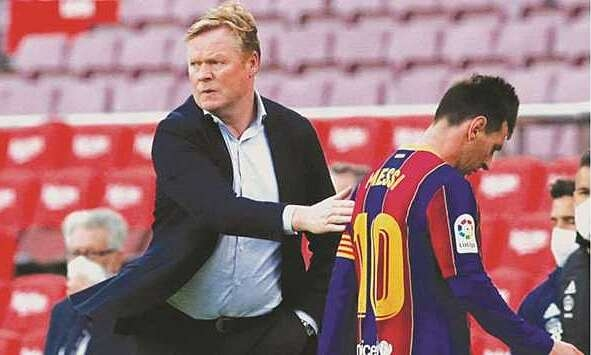 Bagaimana Messi mengabaikan Koeman