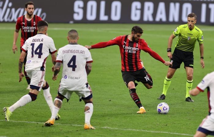 Milan meningkatkan harapan Liga Champions untuk Juventus